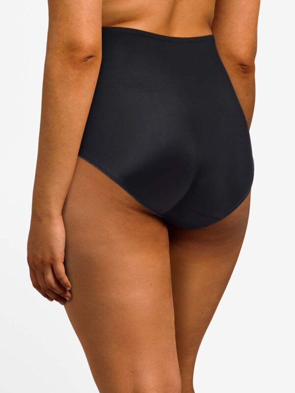 Chantelle Every Curve Black Full Brief Rear