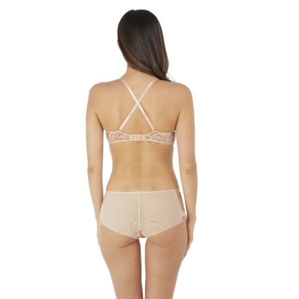 Lace Perfection Cafe Creme Short Rear