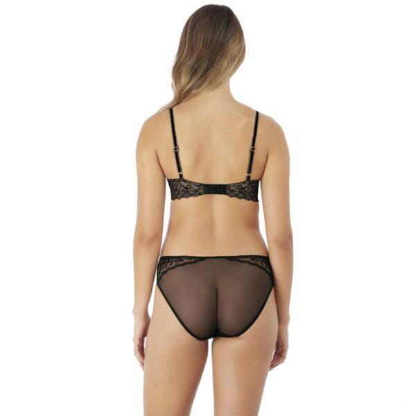 Lace Encounter Night Contour Bra & Bikini Brief Rear