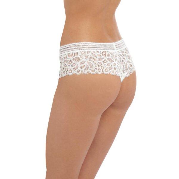 rafine white tanga rear