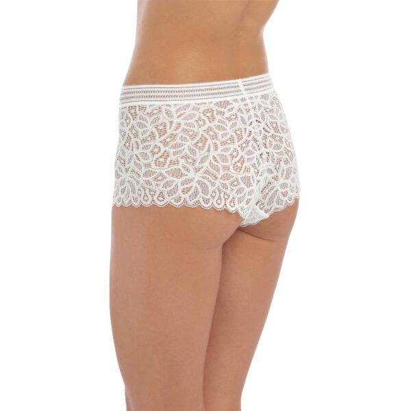 rafine white short rear