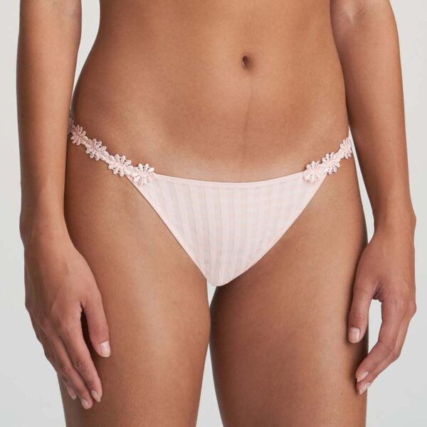 low waist brief pearly pink