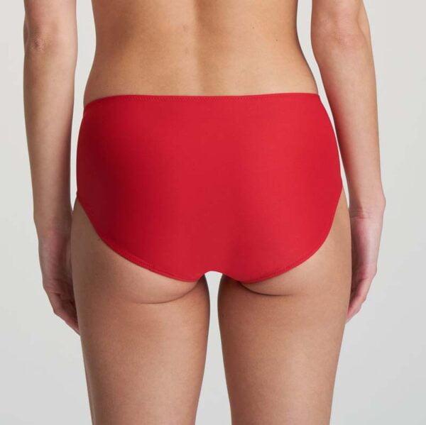 tom scarlet seamless short rear