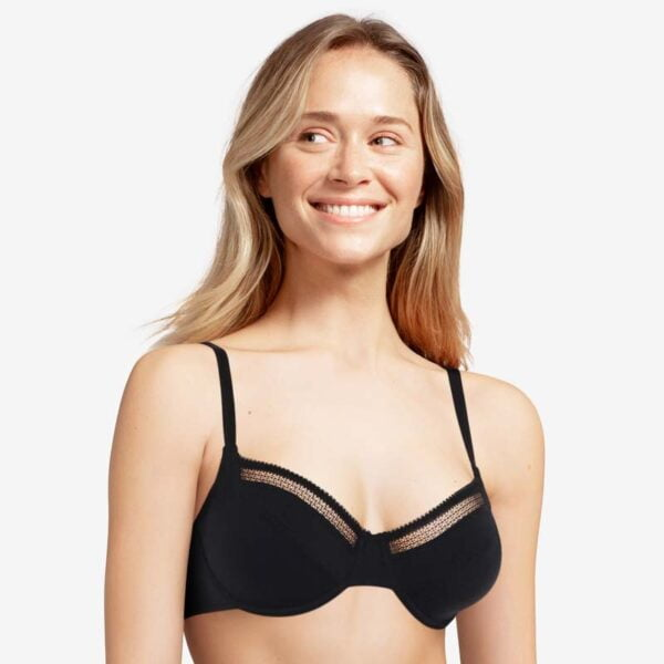 Dream Today Covering Underwire Bra- Dusky pink