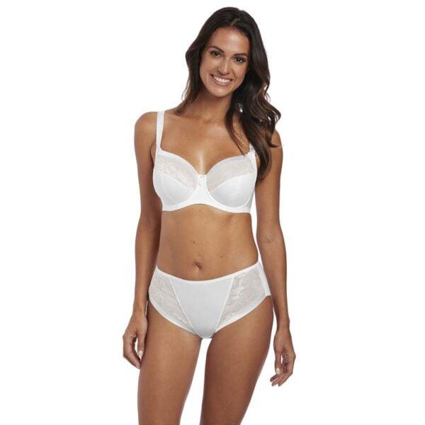 fantasie illusion white bra and brief