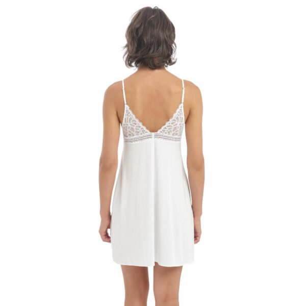 rafine white chemise rear
