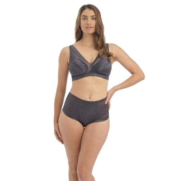 envisage slate non wired bralette and hwb