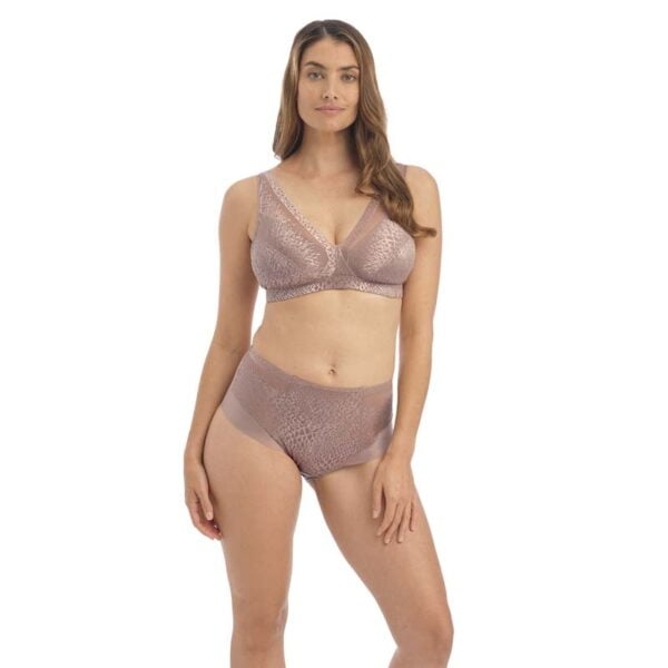 envisage taupe non wired bralette and hwb