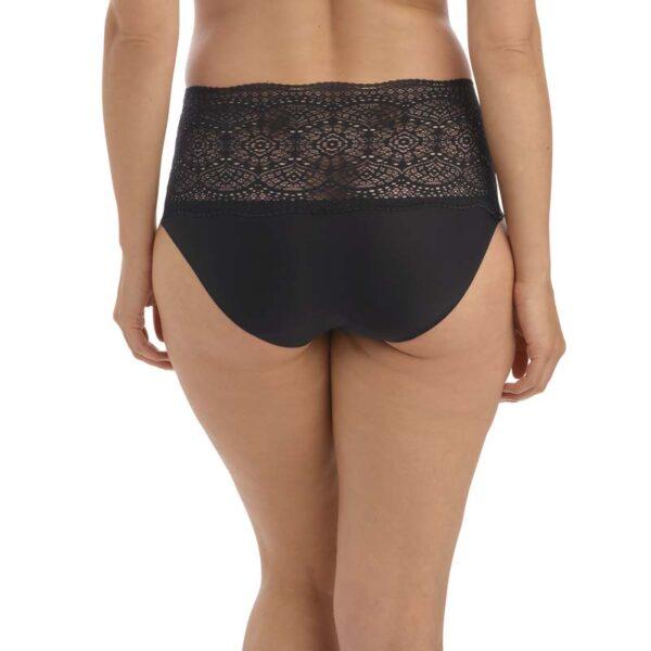 lace ease black rear